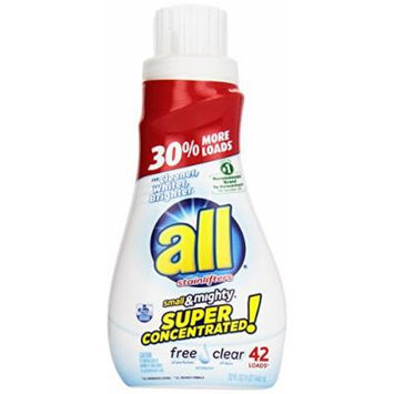all Stainlifters Small & Mighty Liquid Detergent - 32 oz - Free Clear