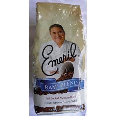 Emerils BAM BLEND full bodied Medium Roast Ground Coffee 10 ounce bag