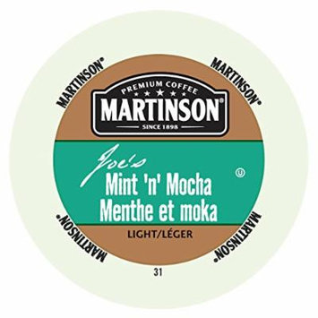Martinson Joe's Coffee, Mint N Mocha, 24 Single Serve RealCups
