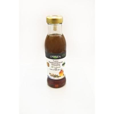 Oxygen Tasty Mediterranean Dressing 11.3oz, Pack of 3 / Kosher