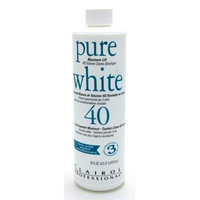 Clairol Pure White 40 Volume 16 oz. (3-Pack) with Free Nail File