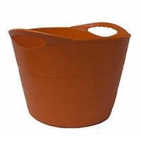 TuffTote Multi-Use Bucket, Pumpkin, 7 gal