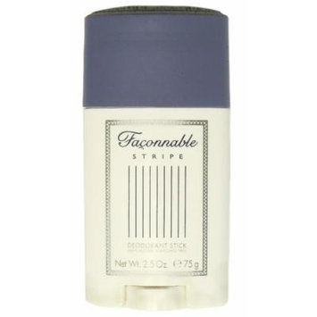 Faconnable Stripe by Faconnable for Men, 2.5 oz Deodorant Stick