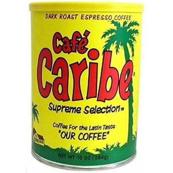 Cafe Caribe Espresso Coffee Can (12/10 oz Case)