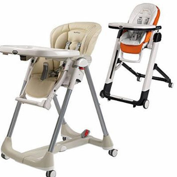 Peg-Perego Prima Pappa Best High Chair w Peg Perego Baby Cushion White (Paloma)