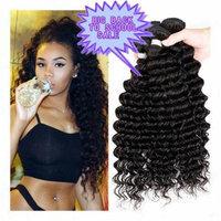 Passion Grade 7a Human Hair Direct 100% Virgin Brazilian Human Hair Extensions Water Wave 3-pack Bundle, Natual Black Color 300g Total (100g Each) (10 12 14)