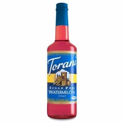 Torani Sugar Free Watermelon Syrup (1 Single 750 ml bottle)