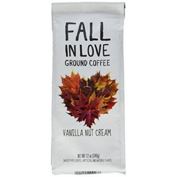 Paramount Coffee Flavored Fall In Love Vanilla Nut Cream, Ground, 12 Ounce