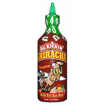 Ass Kickin Sriracha Hot Sauce, 18 oz. Bottle