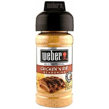 Weber Seasoning, Chicken N Rib, 2.75 Ounce