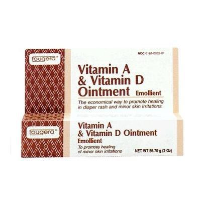 Vitamin A + Vitamin D Ointment, 2 oz Tube, 5/pk