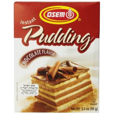 Osem Pudding, Chocolate, 3.3 Ounce (Pack of 12)