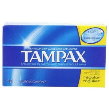 TAMPAX REGULAR FLUSH APPL 10