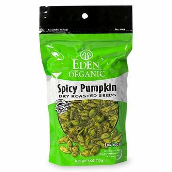 Eden Dry Roasted Foods (Pumpkin Seeds- Spicy, 1 Pack)