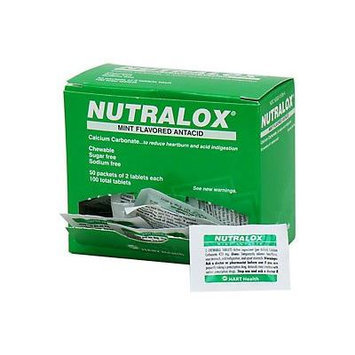 Nutralox Mint Flavored Antacid 100/box