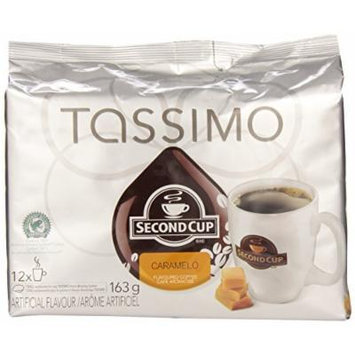 Tassimo Second Cup Caramelo Coffee - 12 T discs - Caramel