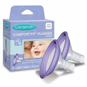 New! Lansinoh Electric Breast Pump Fit Flange Set - 2 pack