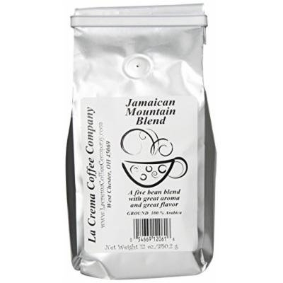 La Crema Coffee Jamaican Mountain Blend, 12-Ounce Packages (Pack of 2)
