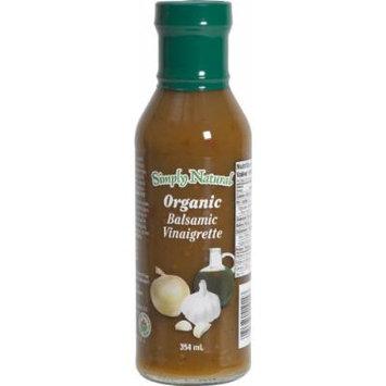 Simply Natural Organic Salad Dressing 12oz Bottle (Pack of 3) Choose Flavor Below (Balsamic Vinaigrette)