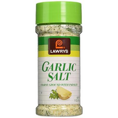 Lawry's Garlic Salt 11oz - Course Ground with Parsley (2 Pack)