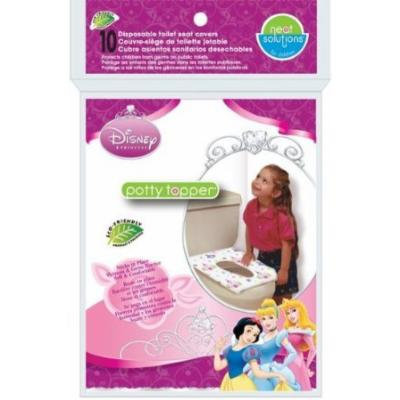 Neat Solutions 10 Count Disney Princess Potty Topper