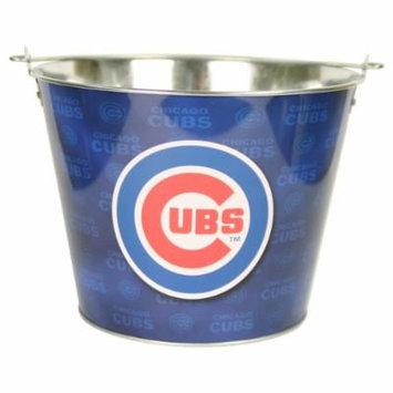 MLB Teams Logo Aluminum Beer Buckets (Chicago Cubs)