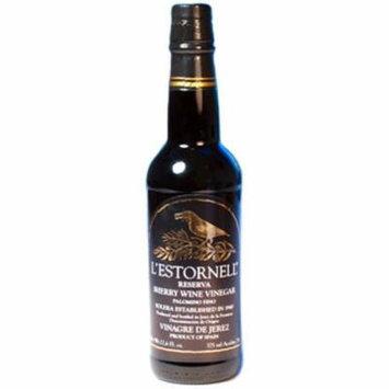 L'Estornell Reserva Sherry Wine Vinegar, 12.68-Ounce Bottles (Pack of 3)