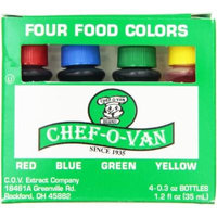 Chef-O-Van Food Color Set