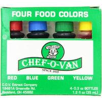 Chef-O-Van Food Color Set