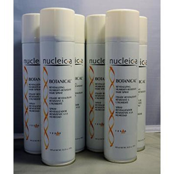 Nucleic-a Revitalizing Humidity-Resistant Hairspray, Botanical, 10.25 oz (6 pack)