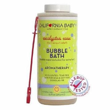 California Baby Bubble Bath Aromatherapy, Eucalyptus Ease 13 Oz