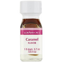 LorAnn Oils Flavorings and Essential Oils, Caramel, 0.125 Ounce (Pack of 12)
