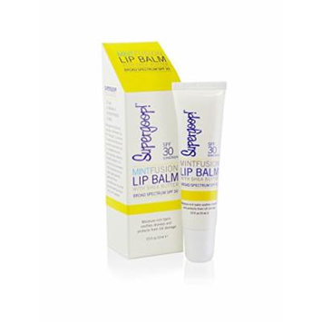 Supergoop! Fusion Lip Balm SPF 30, Mint, 0.5 fl.oz.