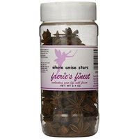 Faeries Finest Whole Anise Stars, 6.40 Ounce