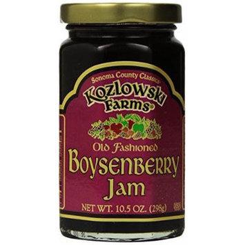 Kozlowski Farms Jam, Boysenberry, 10.5-Ounce (Pack of 6)