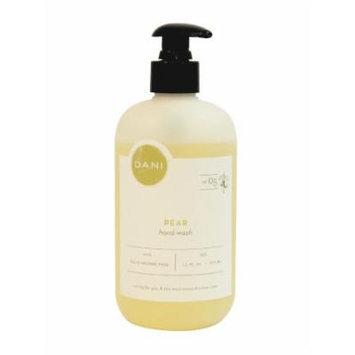 DANI All Natural Hand Wash, Pear, 12oz