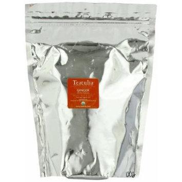 Teatulia Organic Single Garden Ginger Herbal Tea, 100-Count pyramid bags