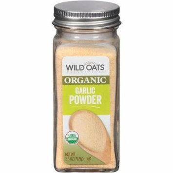 Wild Oats Organic Garlic Powder 2.5 Oz (Pack of 3)