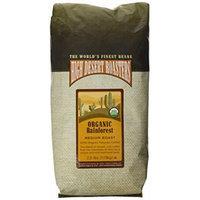high desert roasters organic whole beans, 2.5 lbs. peruvian, medium roast.