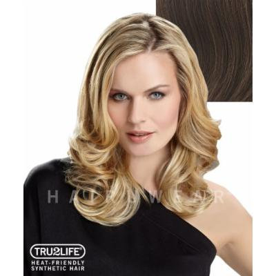 Tru2Life Styleable Extensions - 20 Inch Wavy Clip In Extension - R10-Chestnut/Light Brown