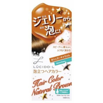 Mandom Lucido-L Bubble Hair Color - Natural Brown