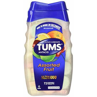 Tums Ultra Strength 1000 72 Tablets