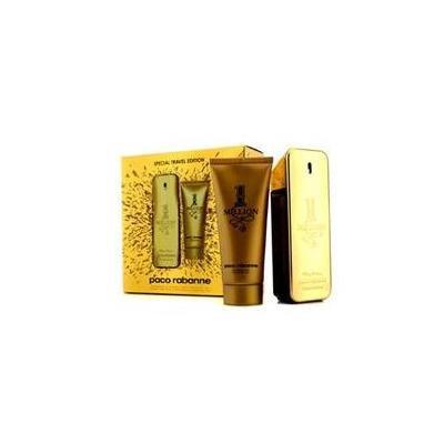 PACO RABANNE One Million Special Travel Edition Coffret: Eau De Toilette Spray 100ml/3.4oz + Shower Gel 100ml/3.4oz For