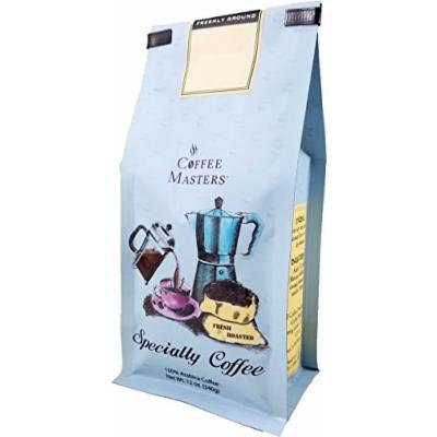 Coffee Masters Flavored Coffee, Creme Brulee Decaffeinated, Whole Bean, 12-Ounce Bags (Pack of 4)