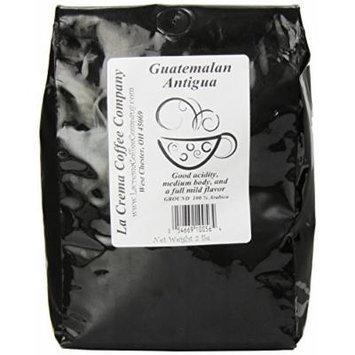 La Crema Coffee Guatemalan Antiqua, 2-Pound Package