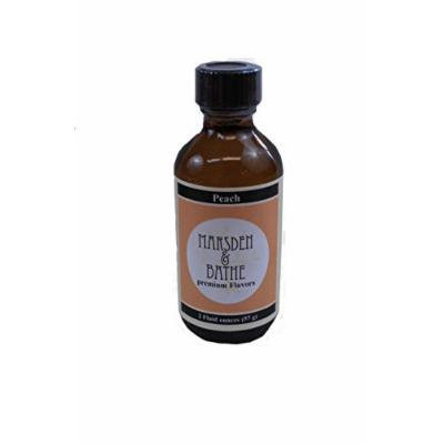 The Prepared Pantry Marsden and Bathe Flavored Extract, Peach, 2 Fluid Ounce