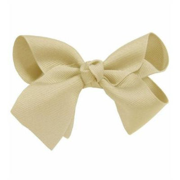 Ivory Beautiful Girls Large Hair Bow Hair Clip