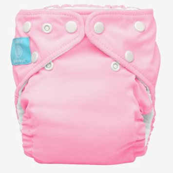 Charlie Banana Diaper In Bellywrap, Baby Pink, Large, 0.42 Pounds (Pack of 24)