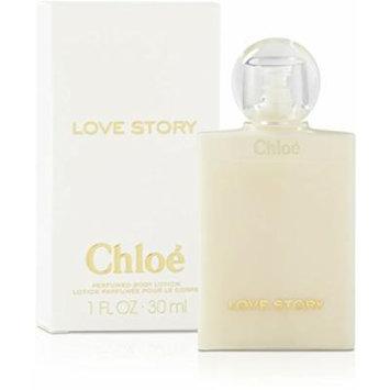 Chloe Love Story 1.oz / 30 ml Travel Perfume Body Lotion MINIATURE