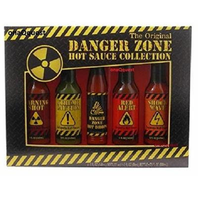 Danger Zone The Original Hot Sauce Collection Gift Set